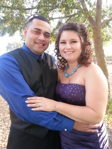 Kelly and Jose Castro Wedding Pose