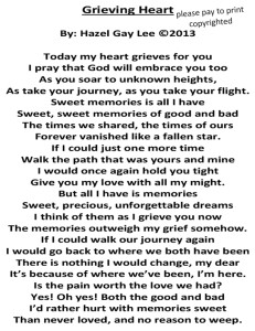 Grieving Heart Poem