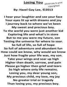 Losing You Poem
