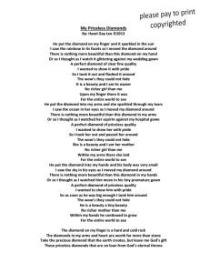 My Priceless Diamonds Poem