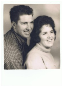 Mom & Dad April 3, 1962_They had been married 30 months 001